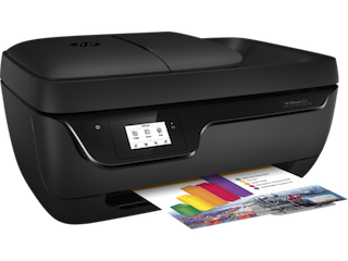 The multifunction printer aimed at the home market and students Download HP OfficeJet 3830 All-in-One Printer Driver