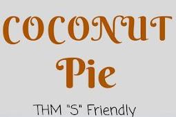 #TOPRECIPES Coconut Cream Pie || Low Carb , Gluten Free, THM