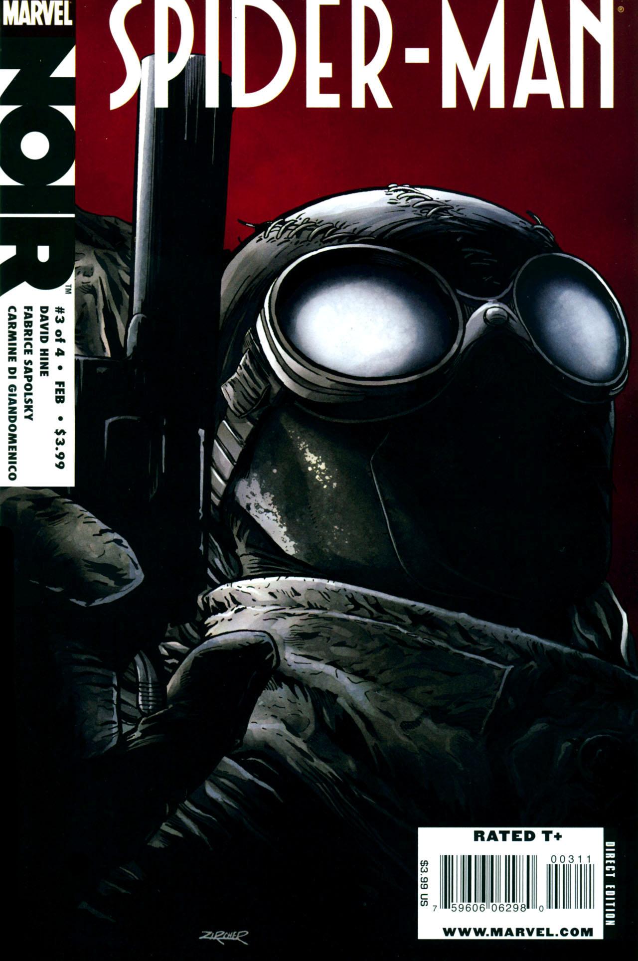 Spider-Man Noir (2009) issue 3 - Page 1