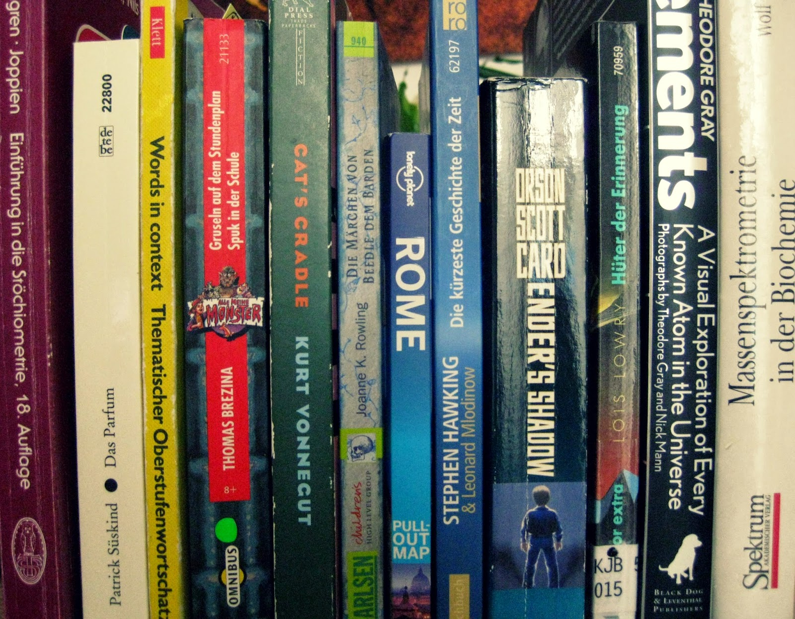 spines german books problems serious issue