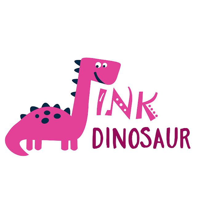 Pink Dinosaur Logo Apparel company