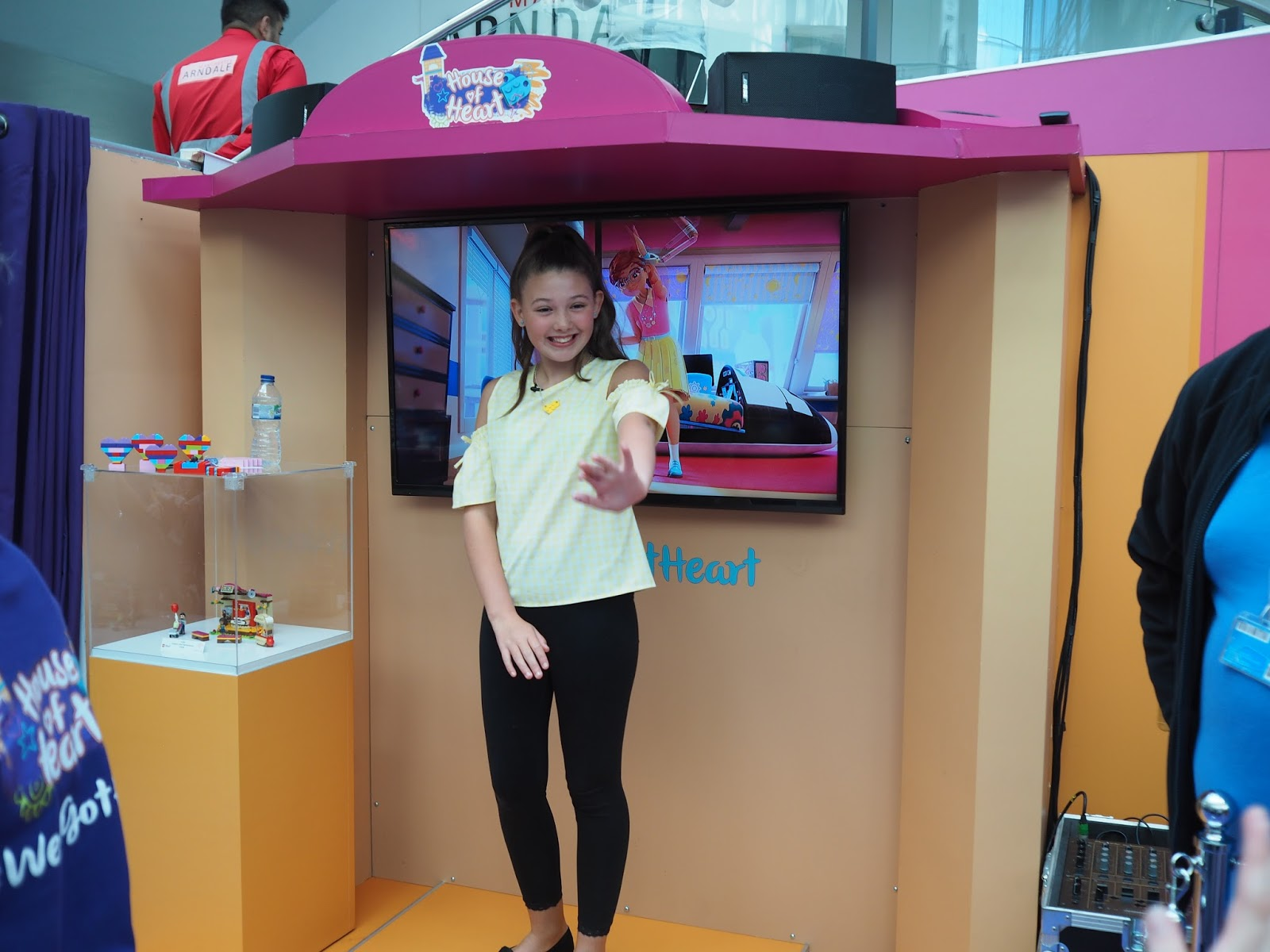 lego friends house of hearts tour manchester arndale ingham family sassybelle