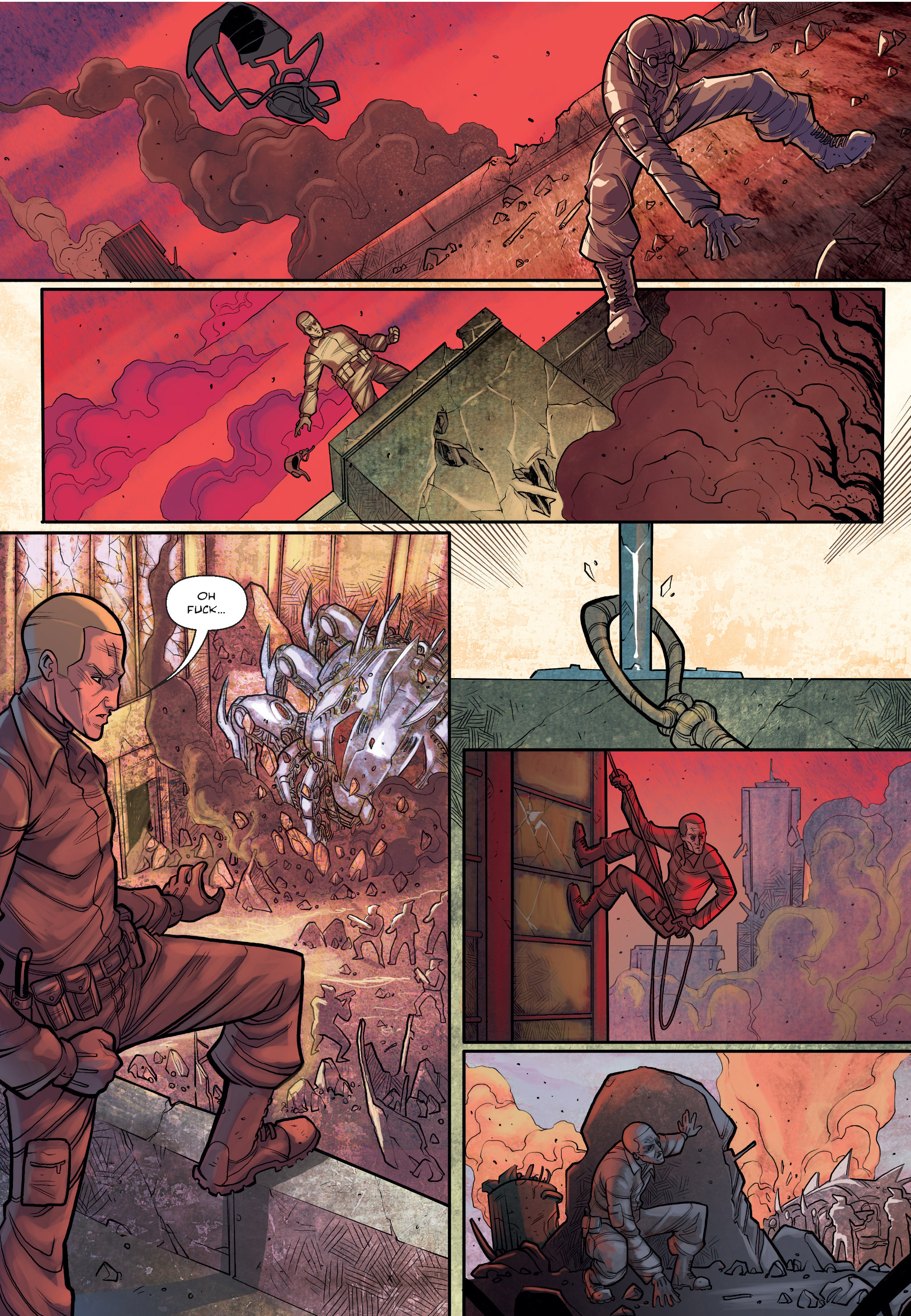 Read online The Shadow of a Terrible Thing comic -  Issue # TPB - 20