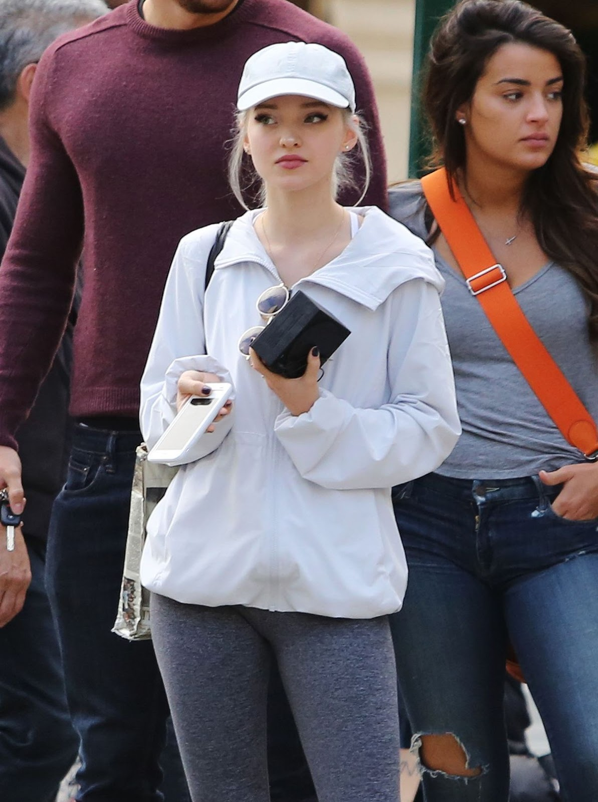 Dove Cameron Heading To A Yoga Class In Vancouver