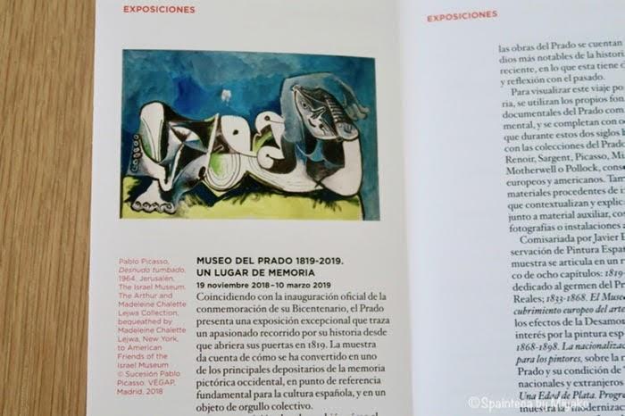 プラド美術館のパンフレット