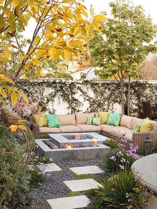 Outdoor Room Design: New Home Interior Design: Cozy Outdoor Rooms