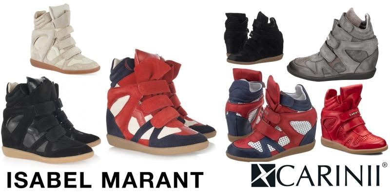 Sneakersy Isabel Marant dla zwykłego śmiertelnika :-)