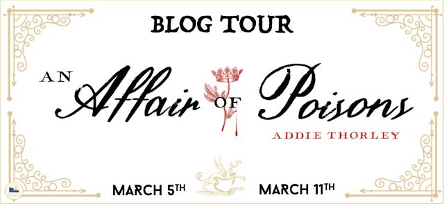 Affair of Poisons Blog Tour