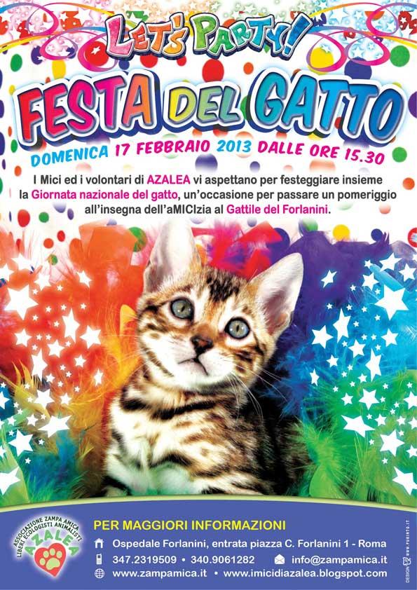 17 Febbraio Festa Del Gatto Okanimali