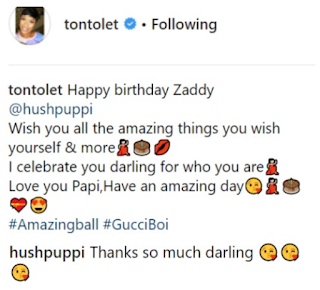 Tonto Dikeh wishes Hushpuppi a happy birthday in an unbelievable way(See how)