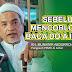 Sebelum Mencoblos Surat Suara, KH.Munawir Abdurrohim Berpesan Baca Do'a Ini