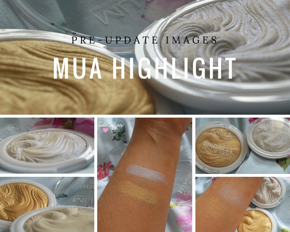 £3 Highlighters MUA Undress Your Skin Shimmer Beauty Review