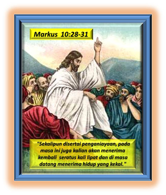 Markus 10:28-31