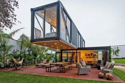 C mo convertir un contenedor en una espectacular casa - Contenedores casas prefabricadas ...