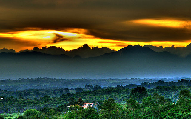Stunning Landscape of Colombia