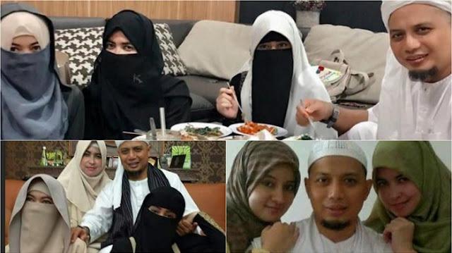 Bikin Haru Pesan Ustadz Arifin Ilham Untuk Ketiga Istrinya