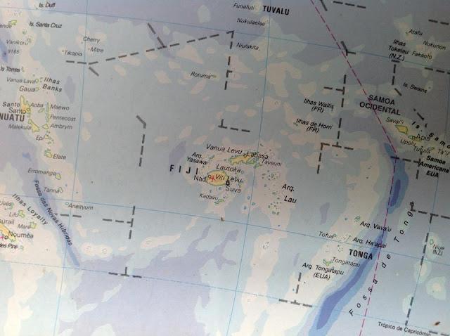 Fixhi - Hartat gjeografike në Fixhi