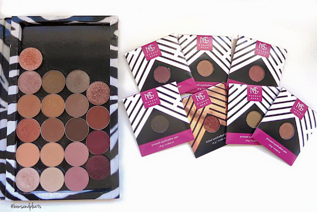 My Makeup Geek Eyeshadow Palette Z Palette