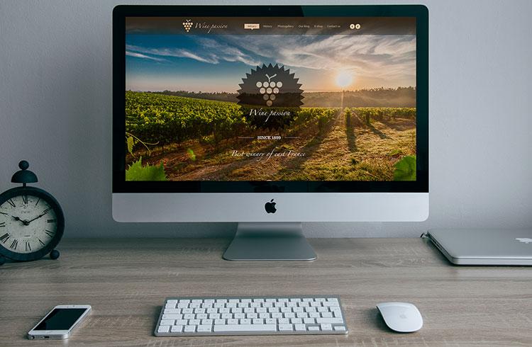 Apple iMac PSD Mockup