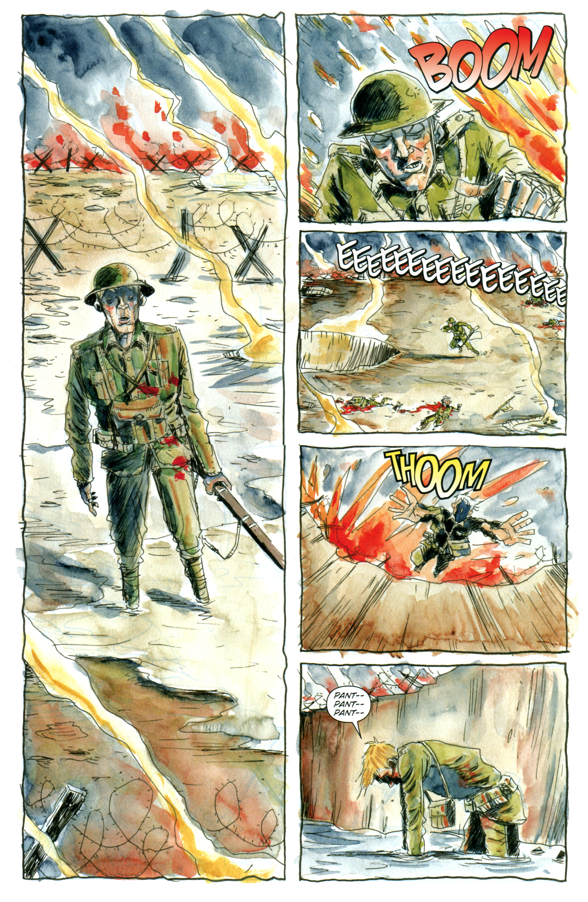 Read online Trillium comic -  Issue #1 - 3