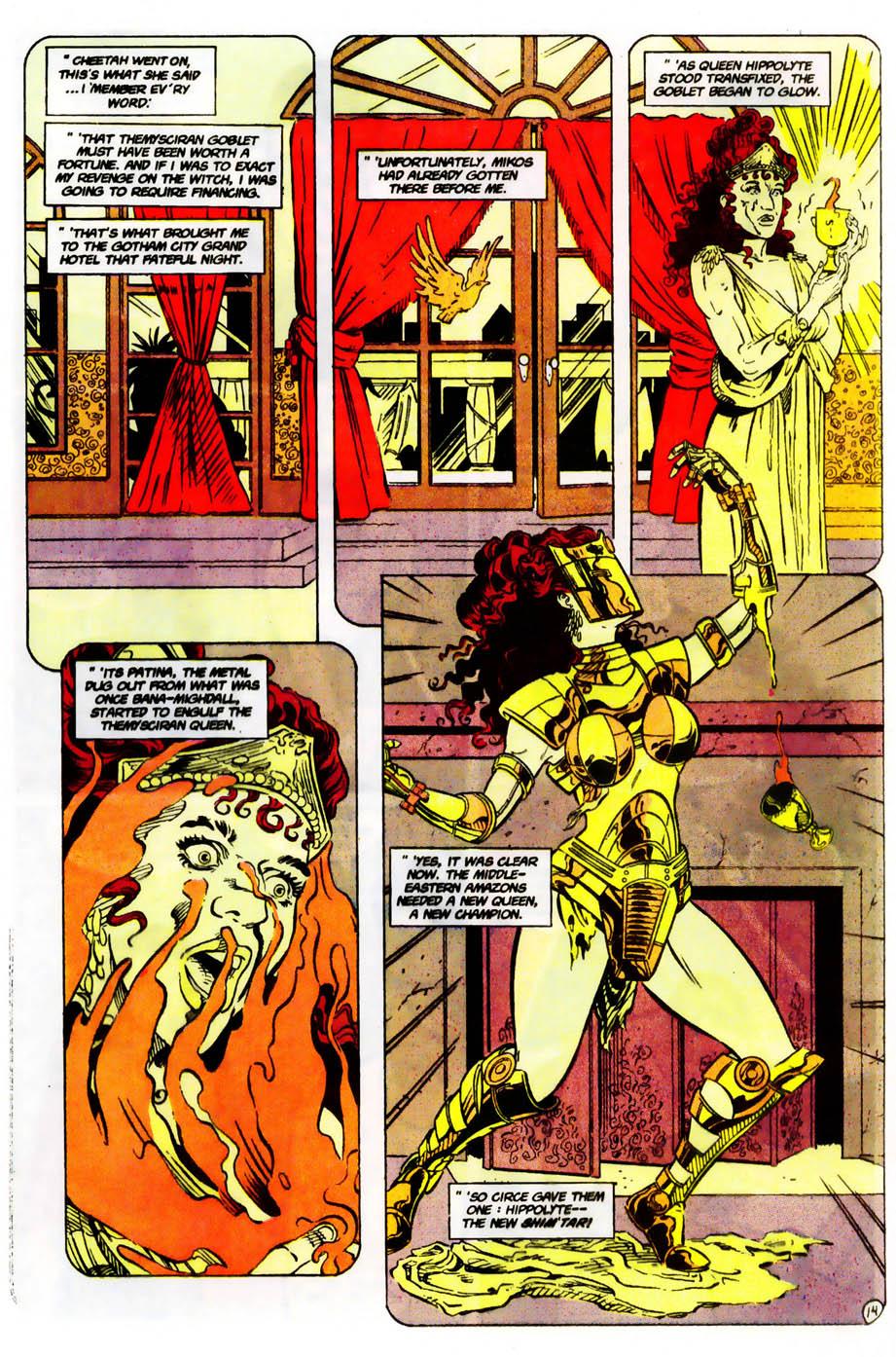 Read online Wonder Woman (1987) comic -  Issue #61 - 16