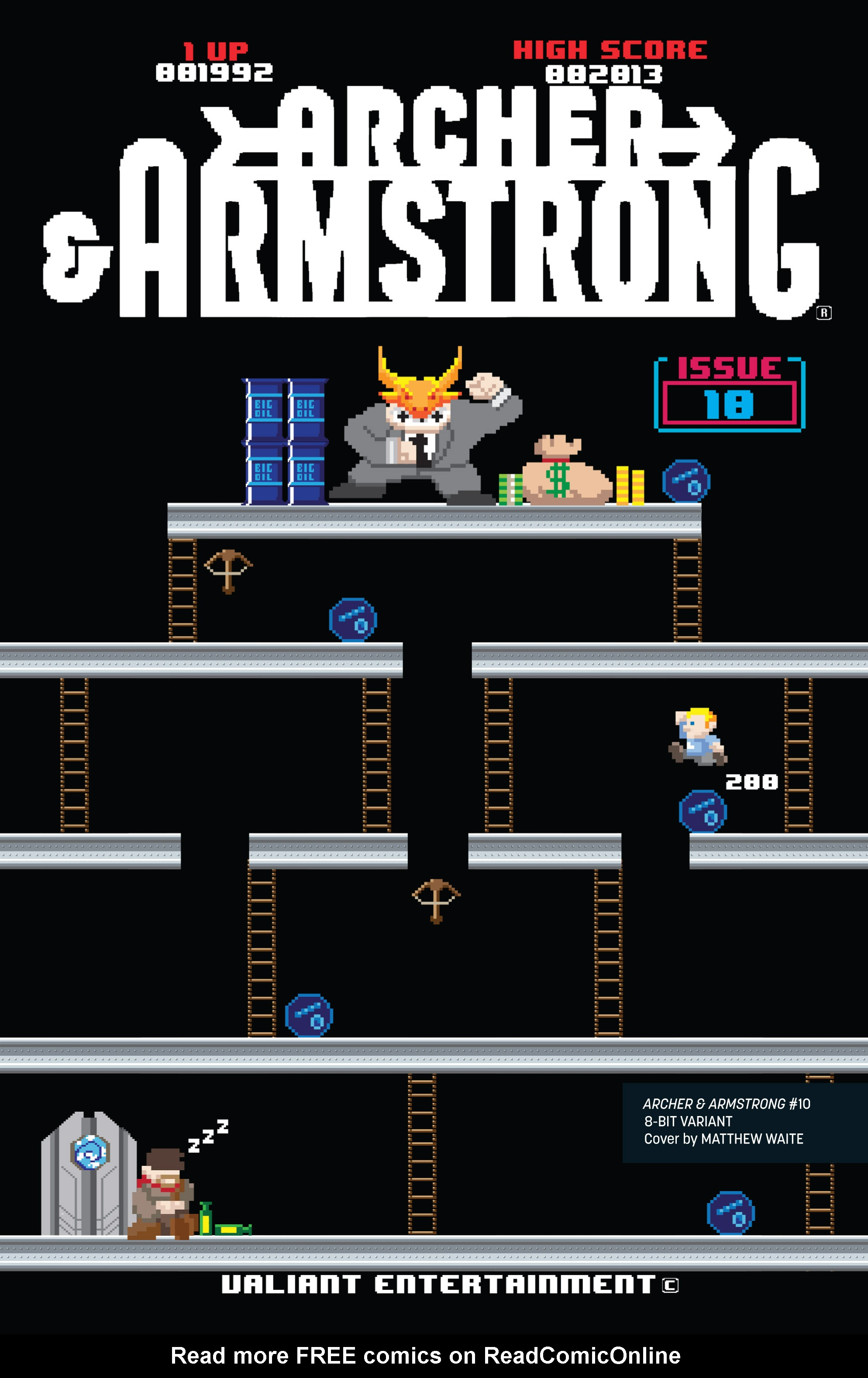 Read online Archer and Armstrong comic -  Issue #Archer and Armstrong _TPB 3 - 125