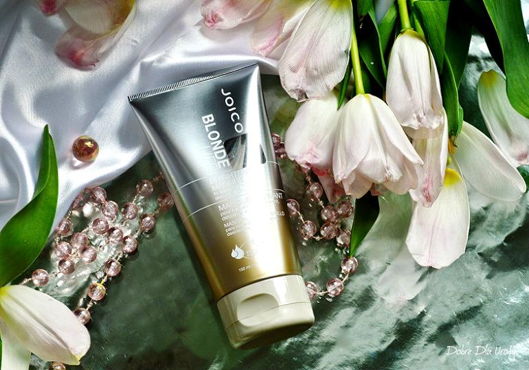 Joico Blonde Life™ Brightening Masque - Maska dla intensywnego nawilżenia, oczyszczenia i nabłyszczenia