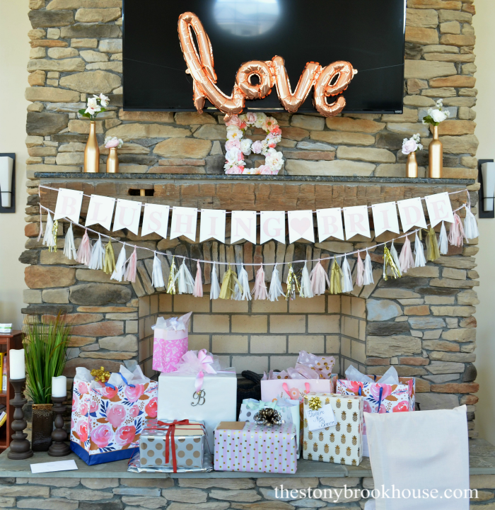 DIY Blushing Bride Bridal Shower