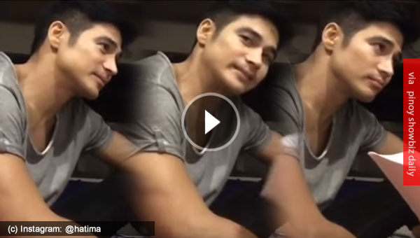 Watch: Piolo Pascual, script-reading with his personal assistant