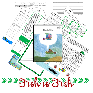 Whether you're studying animal adaptations or looking for a great book to model comparisons, Fish is Fish is a great choice for you. Check out this post for teaching ideas you might be able to use for Fish is Fish and six other Lionni titles.