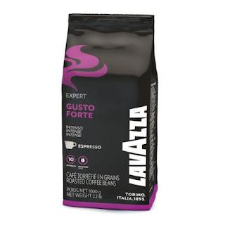 Cumpara de aici cafea boabe Lavazza Gusto Forte