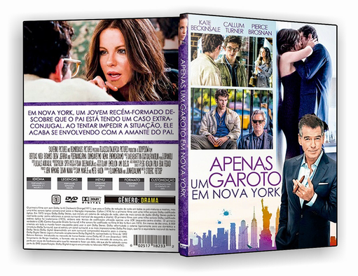 DVD-R Apenas um Garoto Em Nova York – AUTORADO