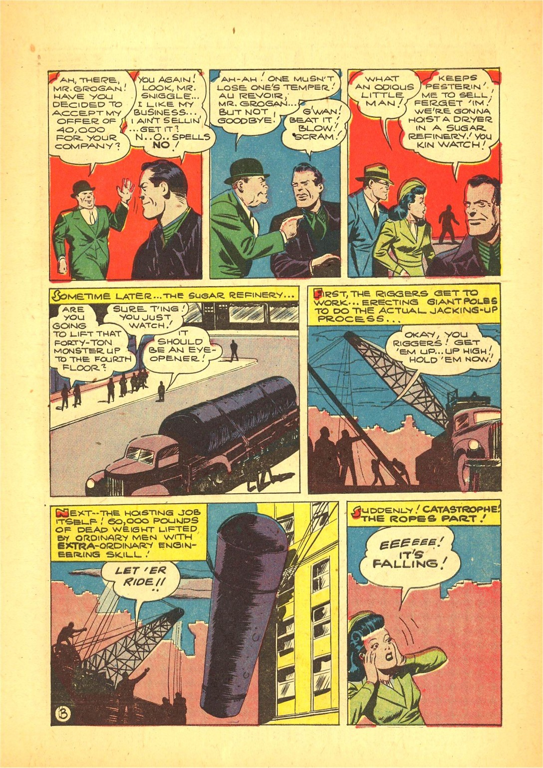 Read online Action Comics (1938) comic -  Issue #72 - 4
