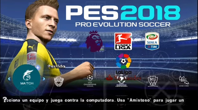 Download PES 2018 Lite for Android and iPhone Offline
