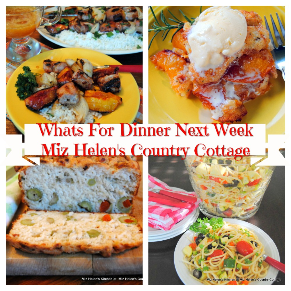 Whats For Dinner Next Week * Week of 8-2-20