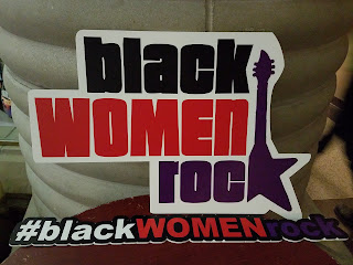 Black Women Rock! logo and hashtag.