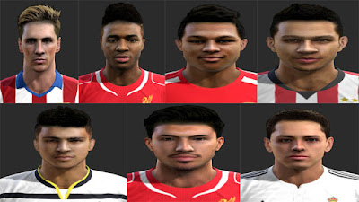Facepack Vol5 By Vicen Pes 2013