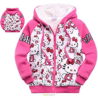 Gambar Jaket Hello Kitty Untuk Anak 11