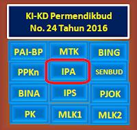 gambar Ki kd Kurikulum 2013 revisi 2017 SMP IPA