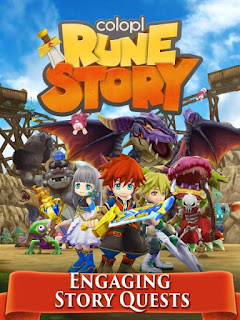 Download Colopl Rune Story 1.0.28.2 Mod Apk For Android Free