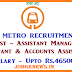 MAHA-METRO Recruitment 2017 For 206 Vacancies JE, Technicians & More