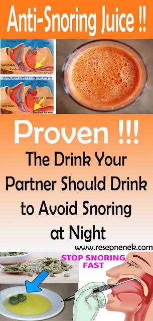 Anti-Snoring Juice