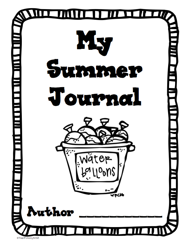 Theimaginationnook: Summer Journals