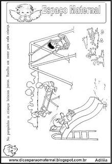 Atividades para a educação infantil, maternal