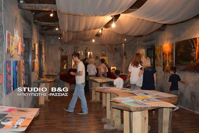 Το Καλλιτεχνικό Εργαστήρι Άργους γιορτάζει τα 30 χρόνια λειτουργία του έκθεση ζωγραφικής