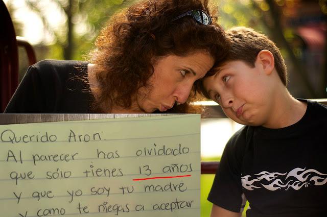Una madre se cansa de la desobediencia de su hijo, su increíble carta es una sensación en Internet