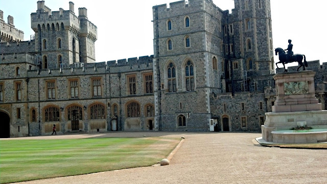 Inside view of Windsor Castle