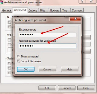 Cara Membuat Password di File RAR