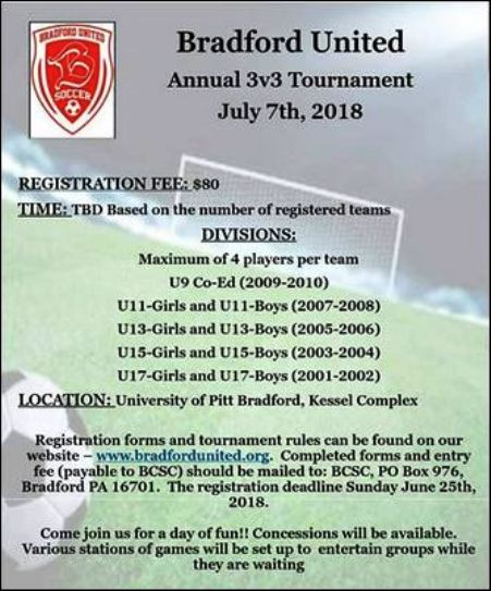 7-7 Bradford United 3x3 Tournament
