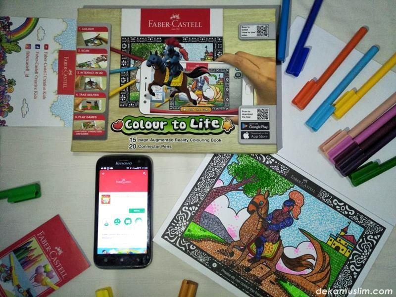 Deka Asah Kreativitas Dan Nge Game Seru Bareng Colour To Life Faber